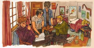 Marauders Chess by artofpan