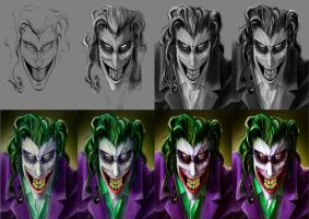 The Joker - step by step by SPartanen