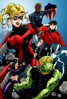 Young Avengers by MacAddict17