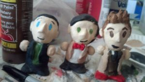 9, 10, and 11 doctor dolls by Artdirector123