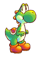 how to draw yoshi - video by psncureberry