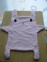 Pink Bunny Towel by unusual-filament