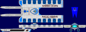 USS Andrew Johnson Multi-View by captshade