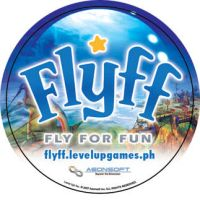 FLYFF Logo Button Pin by Ardnaz