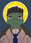 Turtle-stiel by Vetrina-271