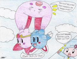 Kirbys messing up by murumokirby360