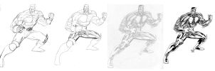Colossus step by step by SpiderGuile