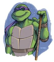 Donatello by D-MAC