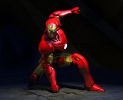 Iron Man Punch by HAL001