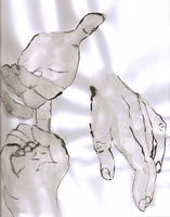 Hands study 1 by waterfish5678901