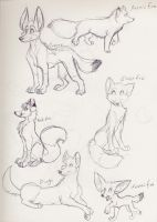 Sketch Book -Different Dogs- by Yumi-San1688