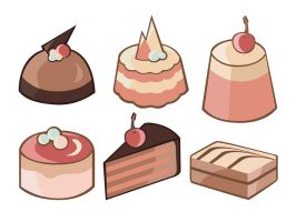 Cakes by JuliaPainter