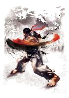 super street fighter 4 ryu by batguyz