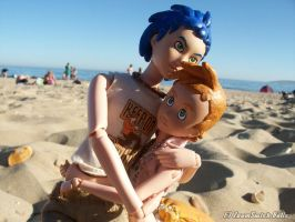 Best Buds on the Beach by ZoomSwishDolls