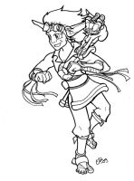Jak and Daxter TPL in action by Silverspegel