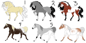 Draw 2 Adopts! CLOSED by Flyingfetlocks