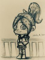 balcony - Vanellope by summilly