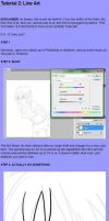 Line Art Tutorial by Baconmoose