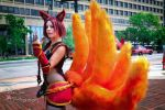 Foxfire Ahri Cosplay by WillOTheWispCosplay