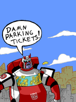 Ratchet Parking Tickets by ellensama
