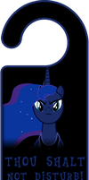 ROYAL WE Princess Luna Door Knob Hanger by Thorinair