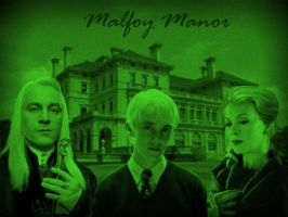 Malfoy Manor by alittlegrim