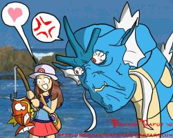 Fishing for Magikarps by BrokenTeapot