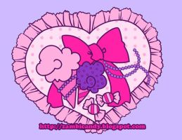Sweets shirt design by zambicandy