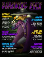 Darkwing Duck Magazine Cover by The-Great-Geraldo