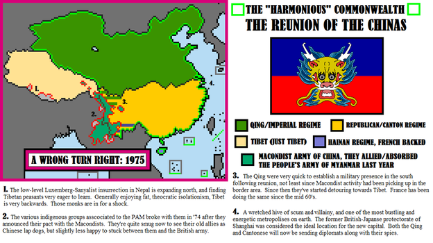 A Wrong Turn Right- Reunified China, 1975 by Todyo1798