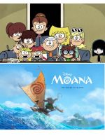 Loud house excited to see Moana by Epic-wrecker