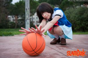 Haruko Akagi Slam Dunk Cosplay by KiraYoshida