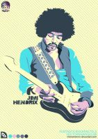 HENDRIX-POPCREAM by vhenomenon