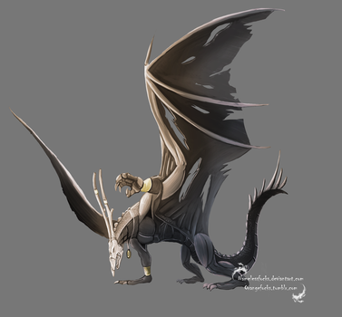 Another Dragon Concept art by Animatedfocks