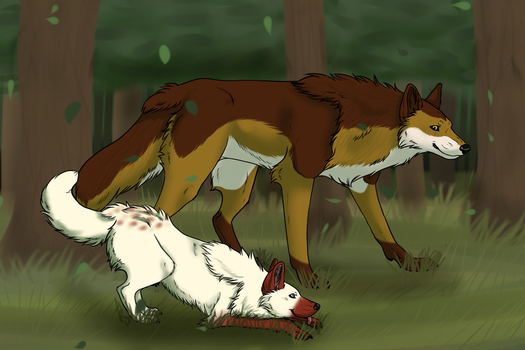 Hunting Lessons - AT by MerylMiles