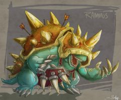 rolling with rammus by jouste