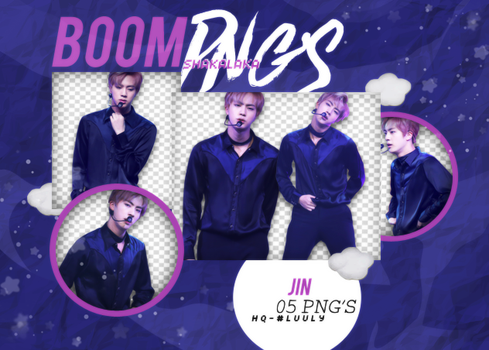 +Jin|Pack png 207|Boom Shakalaka Png's by WrappedInPolythene