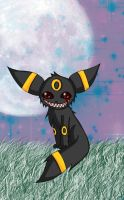 Umbreon 8D by PersonYouDoNotKnow
