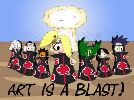 Art is a blast by Kosetsu