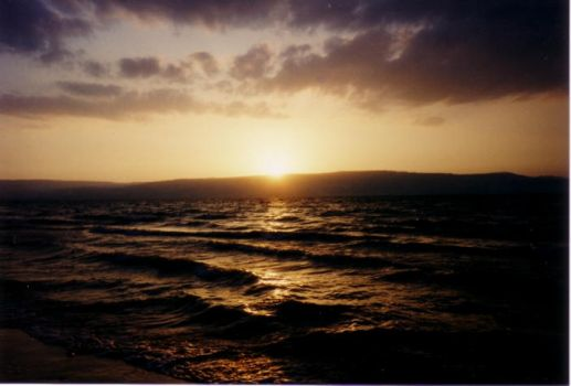 Sunset in Israel by dcs745