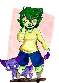 ART TRADE: whiona by GGcosplay