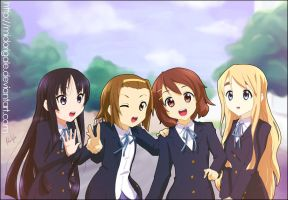 k-on by MidoriGale