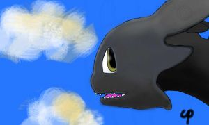flyin' with toothless by Theory-Of-Existence