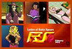Ladies of Ruby Spears  Poster by Alvah-and-Friends