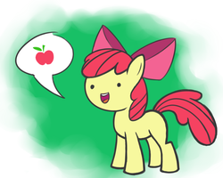 Simple Applebloom by Gallade77