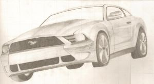 2010 Ford Mustang by J-Mac09