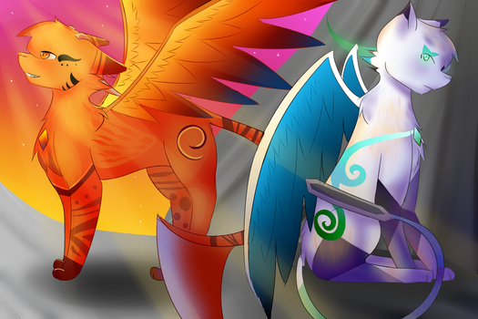 Two Brothers, Two Leaders by TheReelSugarsword