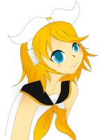 Rin Kagamine by NegxPosxReal