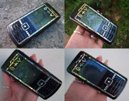 Nokia N72 by Mandy0x