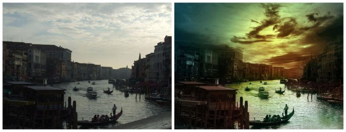 Venice Before _ After by dpainter